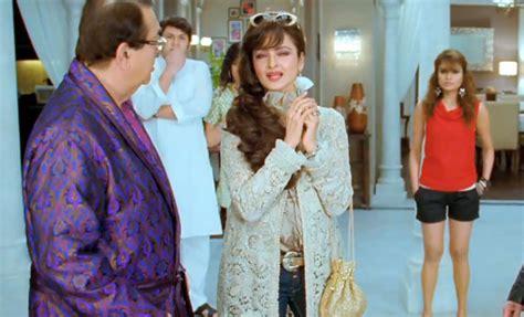 rekha super nani rekha ditches her sarees for a glam avatar in super nani