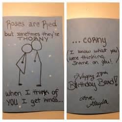 creations by gayla funny birthday card for boyfriend
