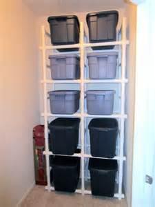 Pvc Garage Storage Ideas Best 25 Pvc Pipe Storage Ideas On