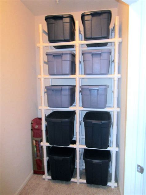 pvc pipe shelf plans diy pipe shelves pvc