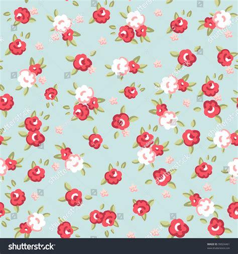 english rose pattern vector english rose seamless wallpaper pattern pink stock vector