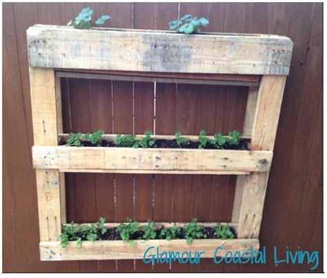 Vertical Planter Box by Vertical Herb Garden Planter Box Coastal Living