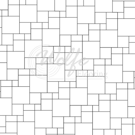 formats layouts and patterns for tiles and piece goods
