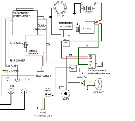 dyna single wiring diagram dyna get free image