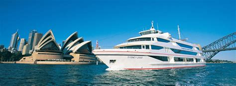 boat cruise lunch sydney harbour lunch cruises captain cook cruises