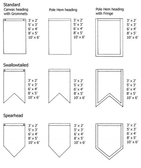 printable shapes for banners banner shapes and construction