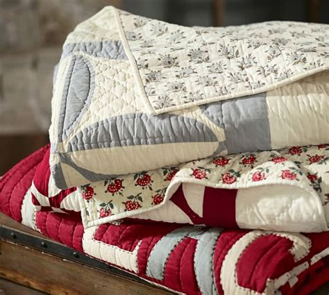 Next Patchwork Bedding - sentiment patchwork quilt sham pottery barn