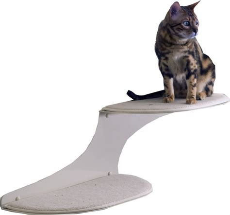 Feline Cloud Shelf by Refined Feline Cat Furniture Has A Unique Different Look