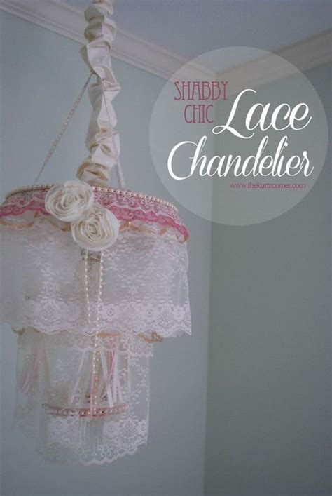 make shabby chic chandelier cool diy chandelier projects