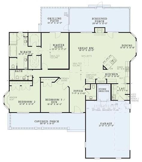open floor plans with basement one level house plans with no basement inspirational best