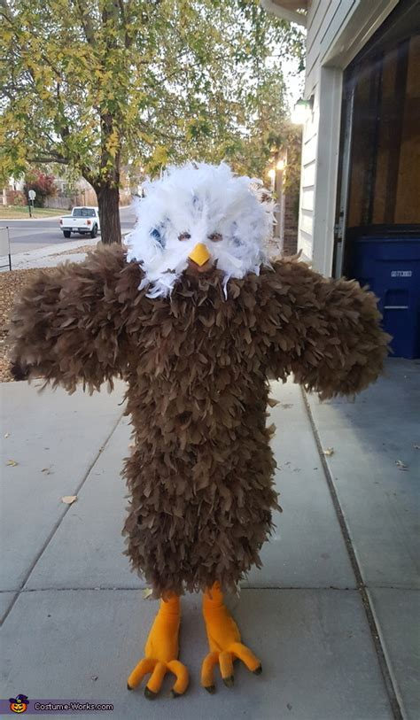 diy bald eagle costume