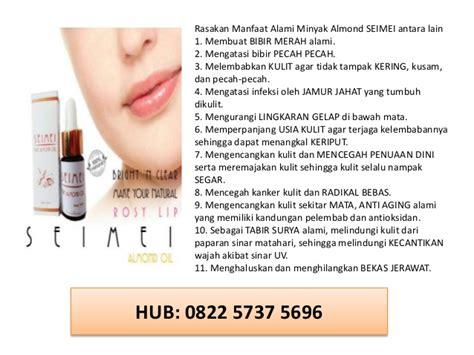 Minyak Almond Untuk Bibir minyak almond beli dimana seimei 0822 5737 5696