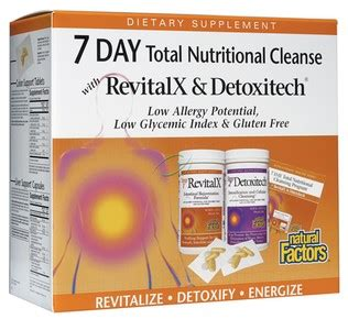 7 Day Total Detox by Factors 7 Day Total Nutritional Cleansing Program