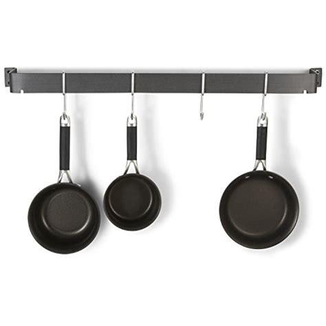 calphalon pot rack hooks calphalon 32 inch straight wall pot rack with 4 heavy duty single hooks new ebay