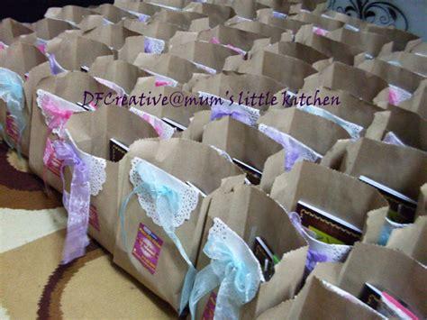 double  gallery goodie bags majlis tahlil  kesyukuran