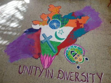 rangoli theme unity kendriya vidyalaya malleswaram bengaluru