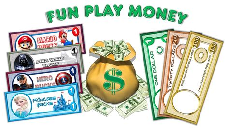 Printable Play Money South Africa