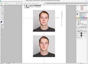 Passport Photo Template Psd by Photoshop Passport Photo Template V1 1 Nicmyers