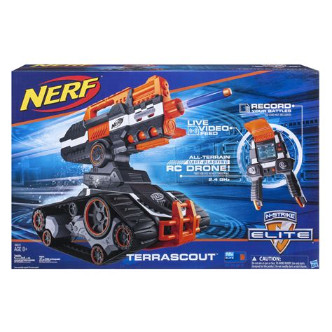 nerf remote tank amazon com nerf n strike elite terrascout toys