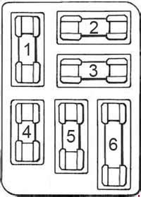 Ford Mustang (1964) – fuse box diagram - Carknowledge.info