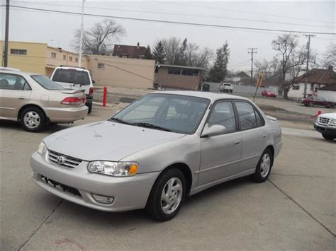 2002 Toyota Corolla S Mpg 2002 Toyota Corolla S Silver 94596 Mount Clemens