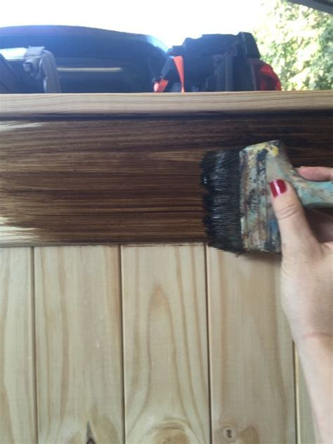 chalk paint unfinished wood 1000 ideas about wax on chalk paint