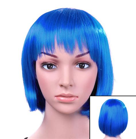 colored wigs turquoise colored wig