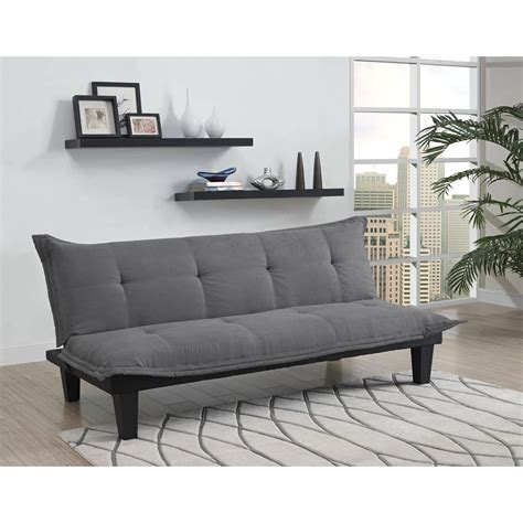 Your Zone Mini Futon by Your Zone Mini Futon Lounger Colors Walmart