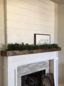 Shiplap Mantle 25 Best Ideas About Shiplap Fireplace On