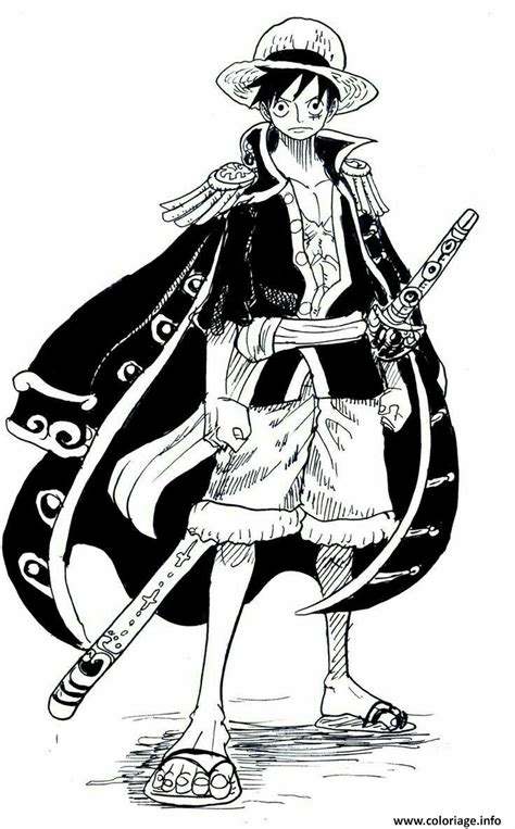 Cool Luffy coloriage monkey d luffy cool one dessin