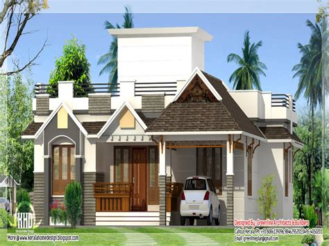 One Storey Bungalow House Plans by Kerala Style Single Storey House Design Bungalow Floor