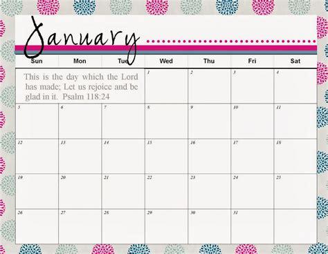 2018 calendar printable free template paper trail design