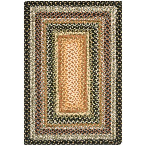 3 foot area rugs safavieh braided blue multi 3 ft x 5 ft area rug brd308a 3 the home depot