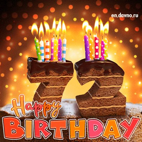 birthday card chocolate cake  candles   funimadacom