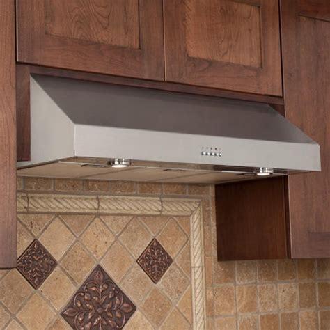 range hood under 30 quot fente series stainless steel under range hood