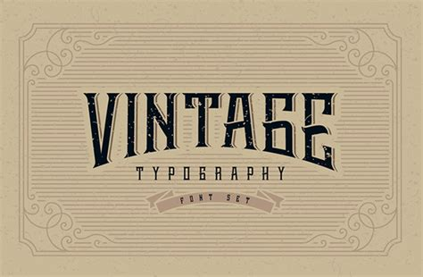 best vintage 27 vintage fonts for designers resources graphic