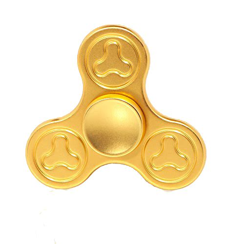 gold fidget spinner fidget spinner solid balance weight tri fidget spinner edc