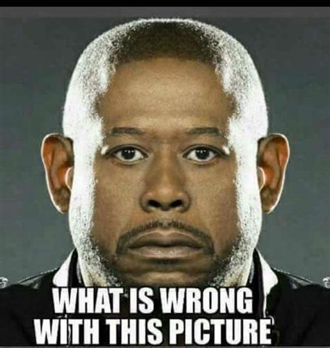 What is wrong with this picture?   Forest Whitaker   Random Lifestyle