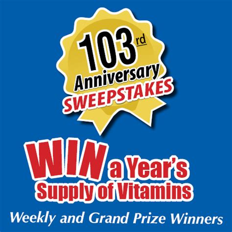 anniversary sweepstakes anniversary sweepstakes launched in 2013