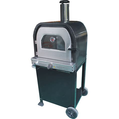 Oven Pizza Gas jumbuck outdoor moda gas pizza oven bunnings warehouse