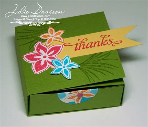 card tutorials julie s sting spot stin up project ideas by
