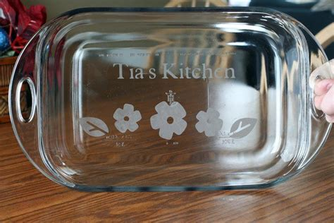 Etched Vinyl Projects - make it frugal fabulous and an anniversary