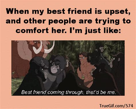 comfort im when my best friend is upset and other people are trying