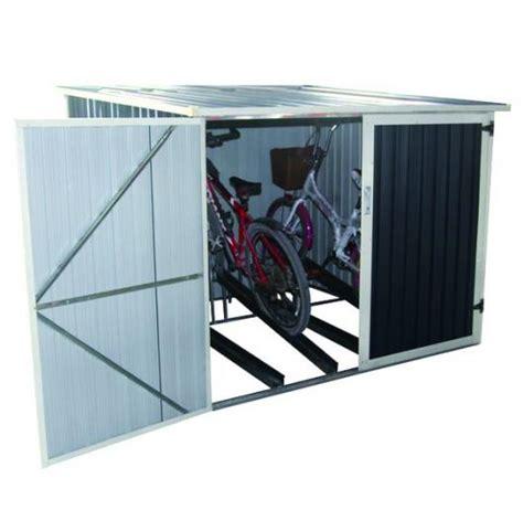 cobertizos bicicletas guarda bicicletas veloc ii gardiun para jardin casetas y