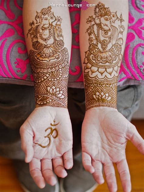 ganesha henna tattoo sri ganesh henna to remove obstacles and bring luck in