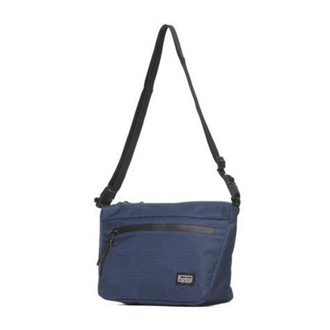 Shoulder Bag Polyester Button Navy bags