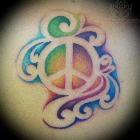negative shading tattoo colorful peace tattoos ink empty
