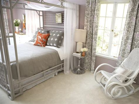 romantic grey bedroom a whimsical bedroom with a neutral color scheme hgtv