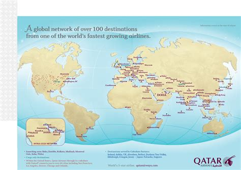 Best Route To Mba by Qatar Airways Route Map Five Alliance