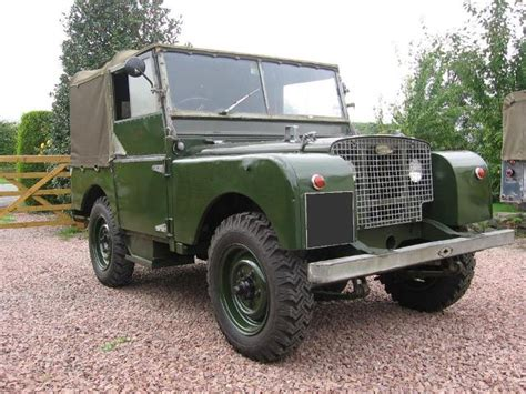 land rover series 1 hardtop quothquan workshops